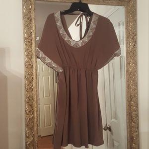 Dresses & Skirts - Dress with beads around neck